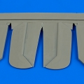 Accessory for plastic models - Bf 108B control surfaces