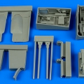 Accessory for plastic models - Fw 190F-8 gun bay