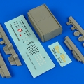 Accessory for plastic models - USAF F-2A spill trailer
