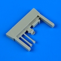 Accessory for plastic models - Gloster Gladiator air intakes