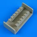 Accessory for plastic models - P-40M Kitty Hawk exhaust