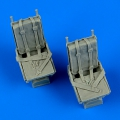 Accessory for plastic models - B-25 Mitchell seats with safety belts