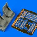 Accessory for plastic models - AVIA B.534 seats