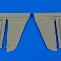 Accessory for plastic models - P-40M/N Warhawk control surfaces