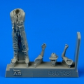 Accessory for plastic models - Royal Australian Air Force Fighter Pilot WWII