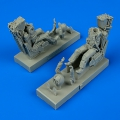 Accessory for plastic models - US Navy Pilot & Operator with ejection seats for F-14A/B Tomcat