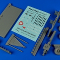 Accessory for plastic models - Flightline trailer F-2A (steel platform)