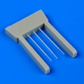 Accessory for plastic models - Fw 190A pitot tubes