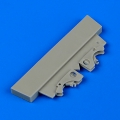 Accessory for plastic models - Fw 190A ribs with brace locks
