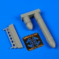 Accessory for plastic models - Spitfire drop tank