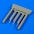 Accessory for plastic models - P-40 Warhawk pitot tubes