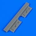 Accessory for plastic models - SBD-5 Dauntless undercarriage covers