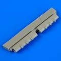 Accessory for plastic models - P-40 Warhawk gun barrels