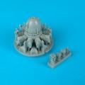 Accessory for plastic models - F4U Corsair engine