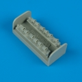 Accessory for plastic models - Ta 152H exhaust