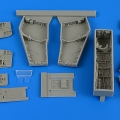 Accessory for plastic models - F-4C/D Phantom II wheel bay with covers