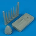 Accessory for plastic models - Spitfire Mk. XIV propeller w/tool