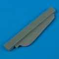 Accessory for plastic models - MiG-17F Fresco C correct ventral fin