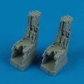 Accessory for plastic models - F-14D Tomcat ejection seats with safety belts
