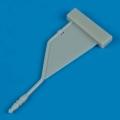 Accessory for plastic models - A-4 Skyhawk refueling probe - late