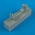 Accessory for plastic models - Hs 126 exhaust