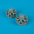 Accessory for plastic models - PBY-1/5 Catalina engines