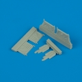 Accessory for plastic models - F4U-1 Corsair undercarriage covers