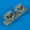 Accessory for plastic models - P-38J Lightning correct air intakes