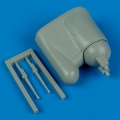 Accessory for plastic models - A3D-1/A3D-2 Skywarrior early v. tail gun turret