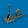 Accessory for plastic models - Wellington tail wheel