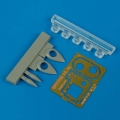 Accessory for plastic models - Spitfire PR XI cameras