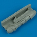 Accessory for plastic models - Me 262 starboard engine