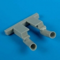 Accessory for plastic models - F2A-2 Buffalo exhaust