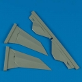Accessory for plastic models - F-117A Nighthawk vertical fin