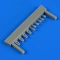 Accessory for plastic models - L-29 Delfín air scoops