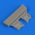 Accessory for plastic models - F4F-4 Wildcat undercarriage covers