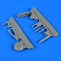 Accessory for plastic models - Fw 190F-8 tail wheel assembly