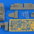 Accessory for plastic models - Bf 109G-5 (late) cockpit set