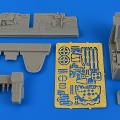 Accessory for plastic models - Bf 109G-6 (early) cockpit set