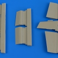 Accessory for plastic models - L-29 Delfín control surfaces