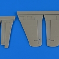 Accessory for plastic models - Me 262A/B control surfaces