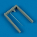 Accessory for plastic models - Ju 88/Ju 188 pitot tube & fuel pipe