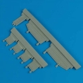 Accessory for plastic models - Fw Ta 154 undercarriage covers