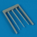 Accessory for plastic models - F-101 Voodoo pitot tube