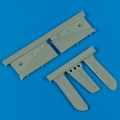 Accessory for plastic models - F6F Hellcat separated tail planes