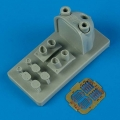 Accessory for plastic models - Mi-2 Hoplite set (air intake, exhaust, F.O.D.)