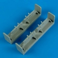 Accessory for plastic models - T-28 Trojan pylons
