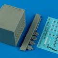 Accessory for plastic models - USAF Flightline toll cabinet (roll cab) 9 drawers