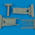 Accessory for plastic models - MiG-29 Fulcrum airbrakes