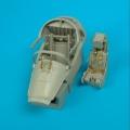Accessory for plastic models - A-7 Corsair II (LATE) cockpit set